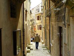 korcula island, old town, croatia