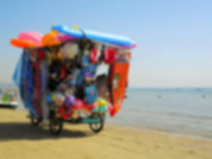 Durres, beach, albania