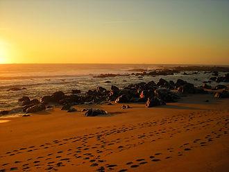 beach, porto, portugal