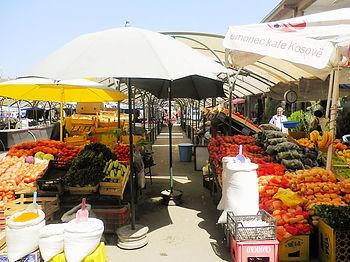 Bazaar, market, prizren, kosovo