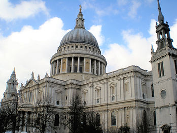 St Paul's cathedral, london, england, church