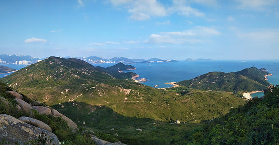 lamma island, hong kong, hiking, hike, mountains, scenery, view, nature, sea, water