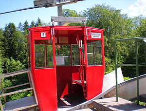 berchtesgaden, germany, cable car