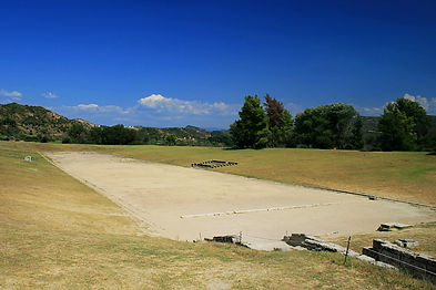 stadium, olympia, greece
