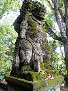 sacred monkey forest ubud bali indonesia