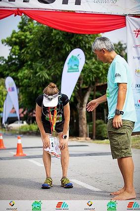 running, ultra marathon, 100km, malaysia, exhausted