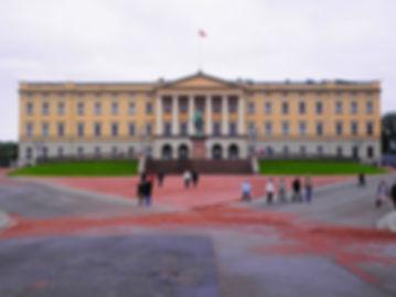 slottet, royal palace, oslo, norway