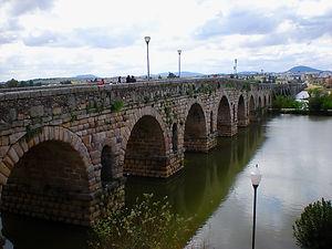 bridge, merida, spain