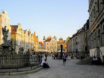 Stary Rynek, poznan, poland
