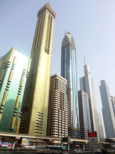 buildings, skyscrapers, dubai