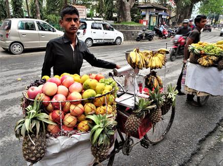 Fruit seller, Pokhara