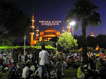 Blue Mosque, istanbul, turkey, ramadan