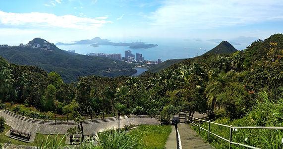 hong kong, hiking, mountains, scenery, view