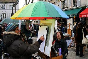 montemarte, paris, portrait, france