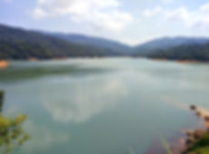 hiking, trail, hong kong, mountain, view, maclehose, scenery, reservoir