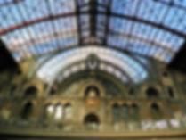 Central station, antwerp central,  antwerp, belgium, train