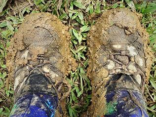 kokoda trail, track, papua new guinea, hike, trek, mountain, jungle, mud, shoes