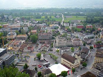 vaduz, liechtenstein, view