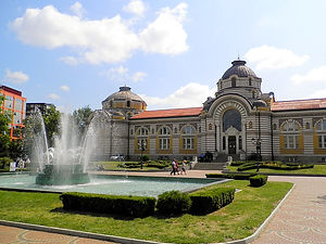 Mineral baths, sofia, bulgaria