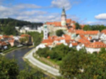 Cesky Krumlov, castle, czech republic