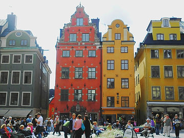 Gamla Stan, old town, stockholm, sweden