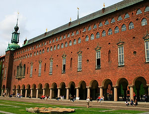City hall, stockholm, sweden, stadthuset