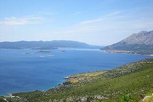 coast, croatia, water, korcula islands
