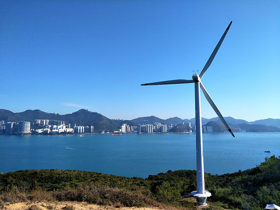 lamma island, hong kong, hiking, hike, mountains, scenery, view, nature, lamma winds, turbine, sea, water