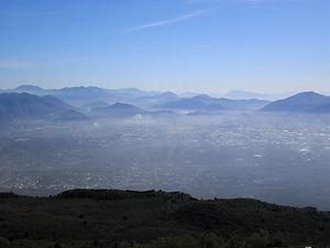View, Mt. Vesuvius, naples, italy, volcano