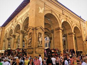 Florence, market, italy