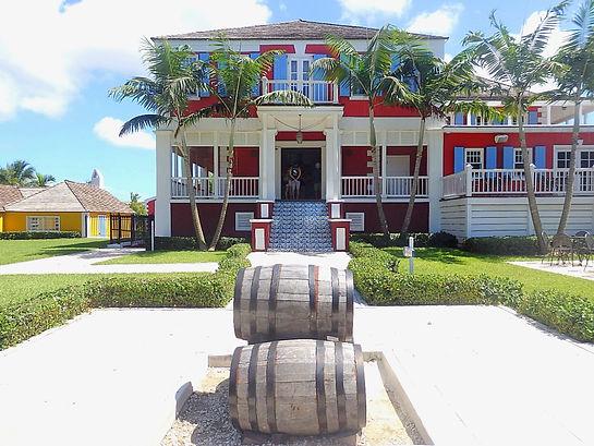 rum distillery, nassau, bahamas