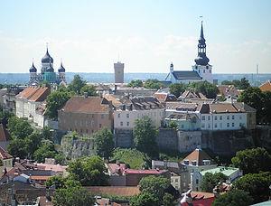 St Olav's church, tallinn, estonia