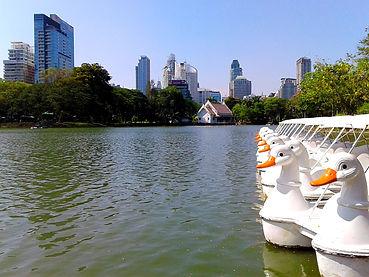bangkok, thailand, lumpini park, lake