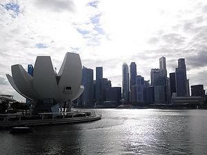 Singapore, river, buildings