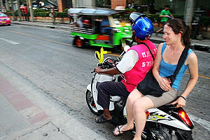 thailand motorbike taxi