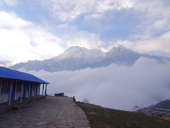 nepal, mardi himal