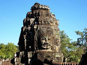 bayon, siem reap, cambodia