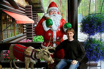rovaniemi, santa claus village, finland