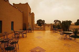 hotel, desert, sahara, morocco