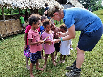 kokoda trail, track, papua new guinea, hike, trek, mountain, jungle, children, nauro