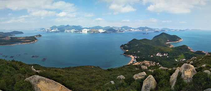 lamma island, hong kong, hiking, hike, mountains, scenery, view, nature, sea, water, lookout, summit