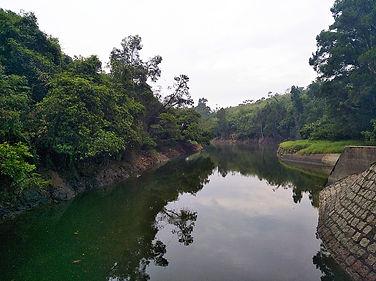 reservoir, hong kong, trail, mountain, hiking, view, yuen tsuen ancient trail