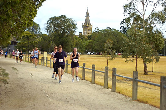 princes park fun run australia