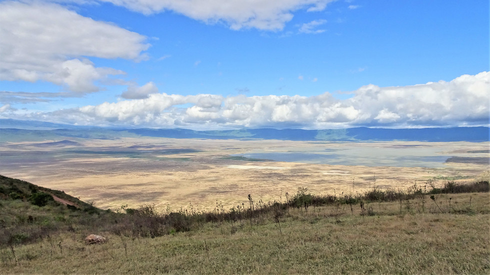 Viewpoint over Ngorongoro Crater