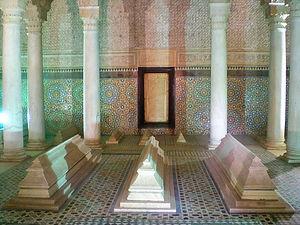 Saadian tombs, marrakesh, morocco