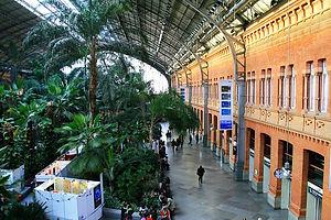 Atocha train station, madrid spain