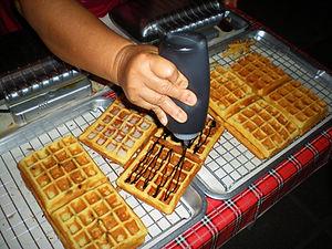waffles, chiang mai, thailand