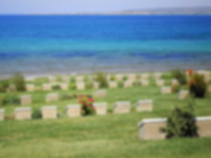 Ari Burnu cemetery, gallipoli, turkey, anzac