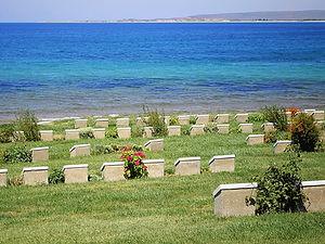 Ari Burnu cemetery, gallipoli, turkey, anzac