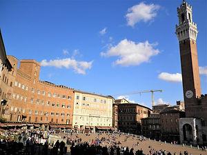 Il Campo, square, siena, italy